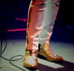Phosphorescent boots