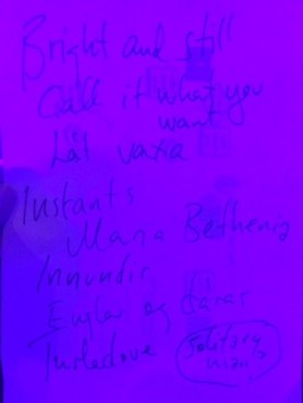 Set list, Ólöf Arnalds (April 7, 2015)