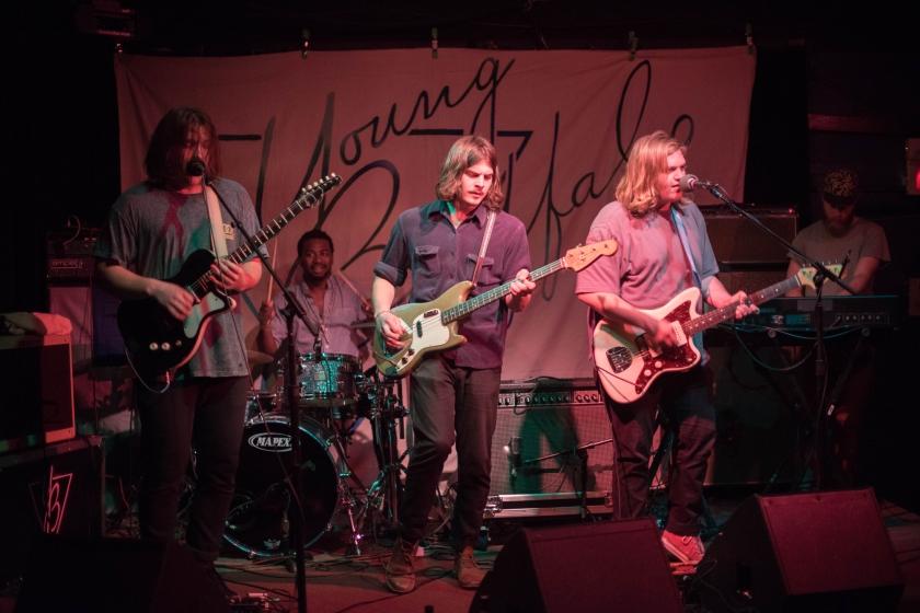 Young Buffalo at the Black Cat (Washington, DC) on April 6, 2015.